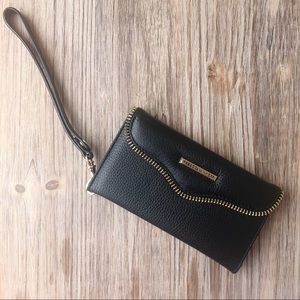 REBECCA MINKOFF M.A.B. Tech Wristlet Leather NWT
